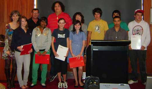 YNYT Nine Students Received Accreditation for Cert. 2 in community Services