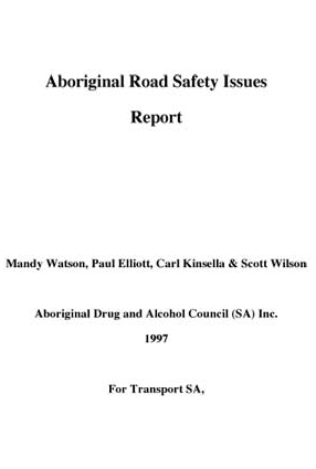 1997 Aboriginal Road Safety Issues Report - Other